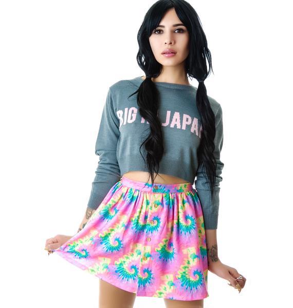 Tie Dye Philadelphia Freedom Skirt