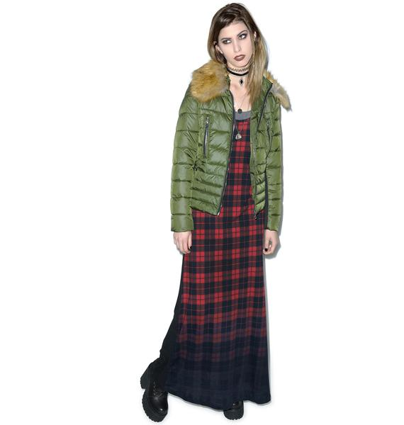 Killstar Tartan Grunge Dress