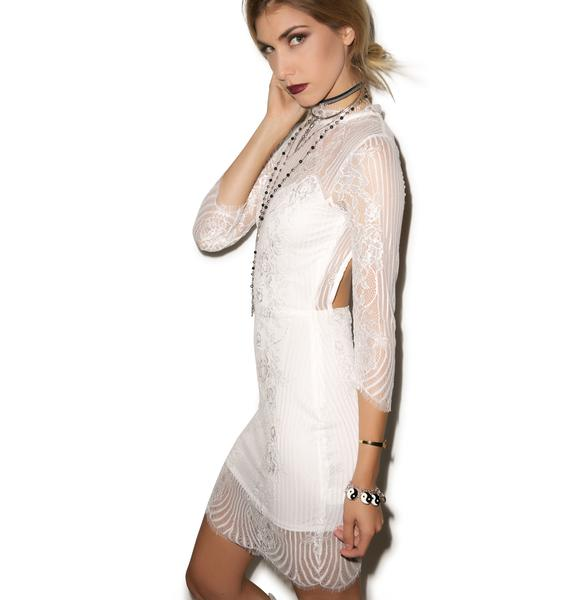 For Love & Lemons Rosette Dress