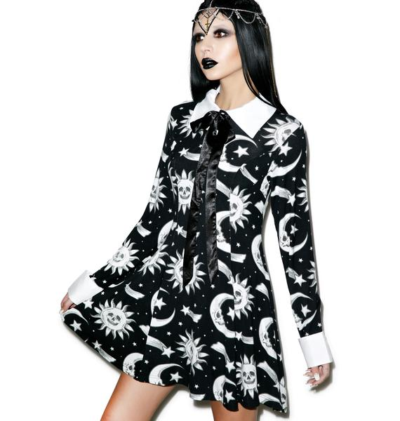 Killstar Cozmic Death Ribbon Dress