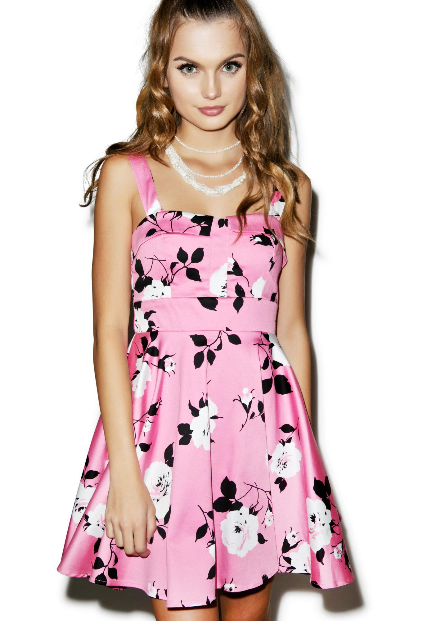 Exotic Blossom Dress