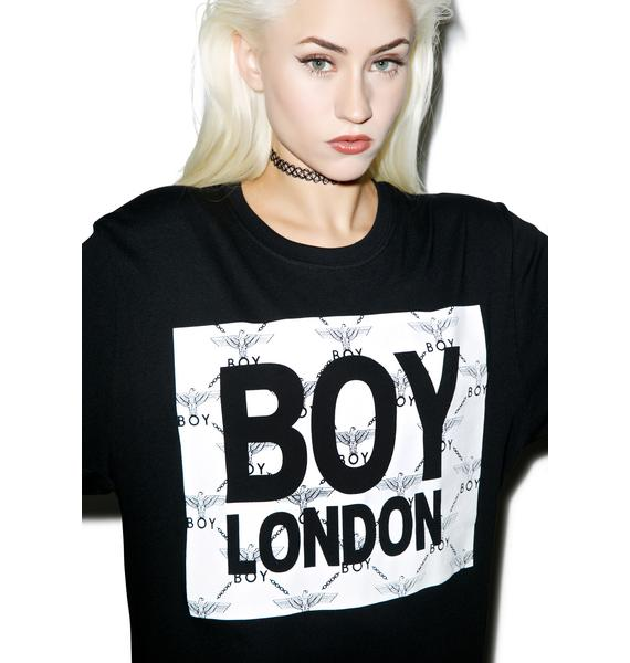 BOY London Eagle Matrix Box Tee