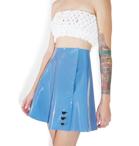 Maria ke Fisherman Patent Skirt