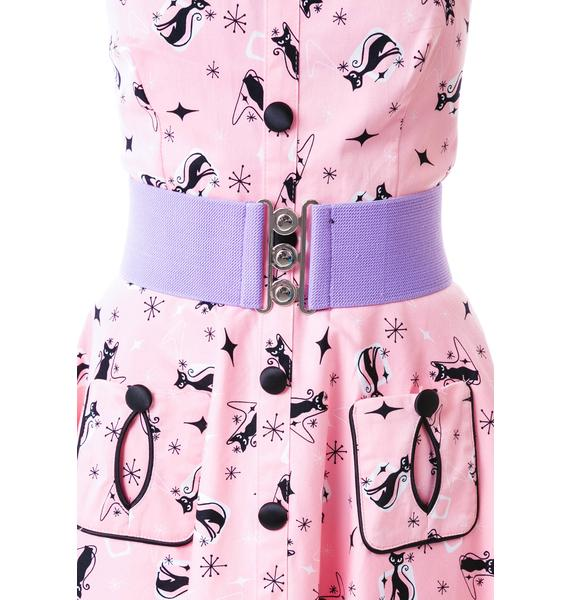 Hell Bunny Total Betty Retro Belt