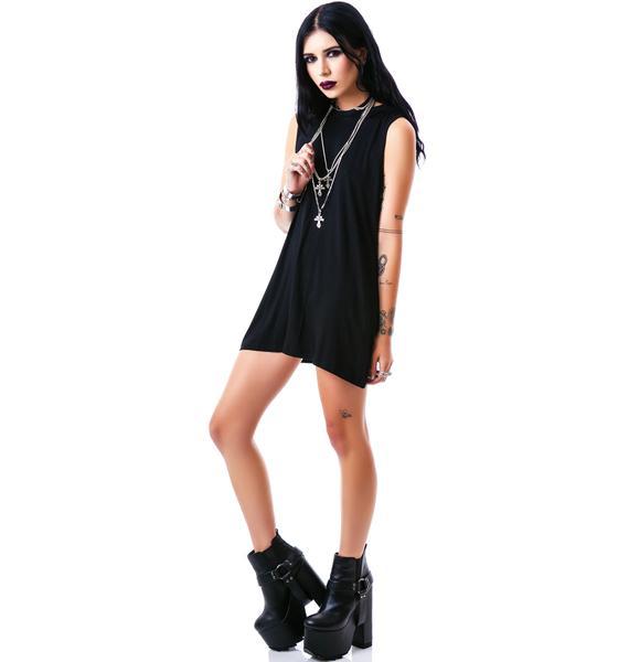 Killstar Sorrow Hood Tank Dress