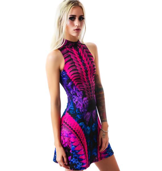 Lip Service Genetic Chimera Skater Dress