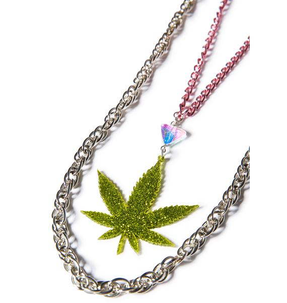 Trixy Starr Weed Gang Necklace