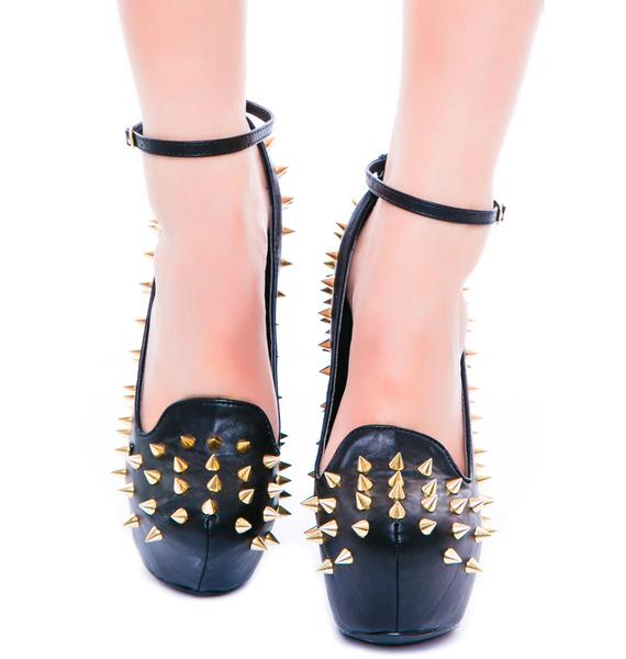 Privileged Sakina Spiked Wedge