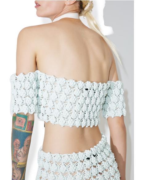 Gooseberry Crochet Crop Top