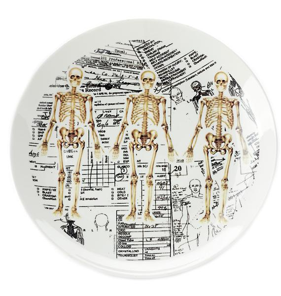 Sourpuss Clothing Skeleton Plate