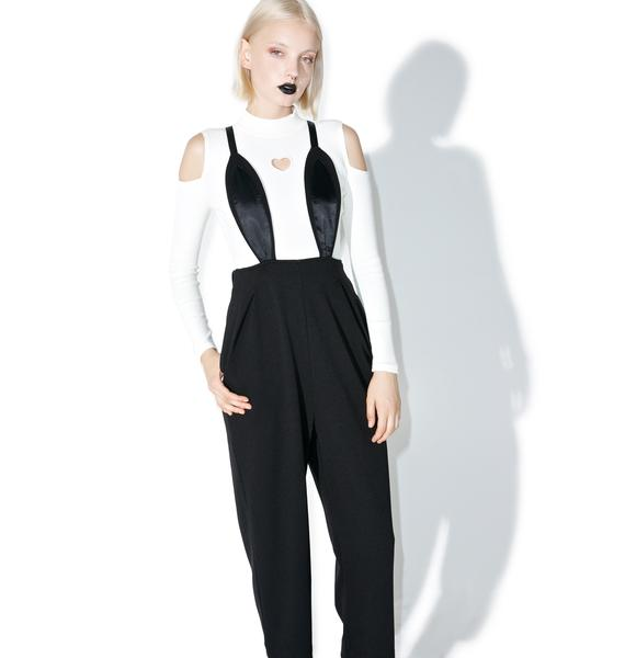 one spo Rabbit Suspender Jumpsuit