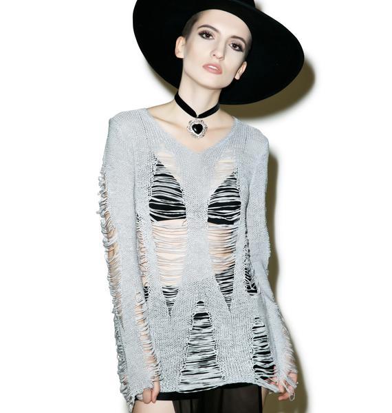 Killstar Baal Knit Sweater
