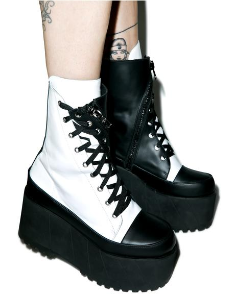 Division Leather Twister Boots
