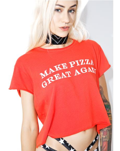 Great Pizza Crop Rolling Tee