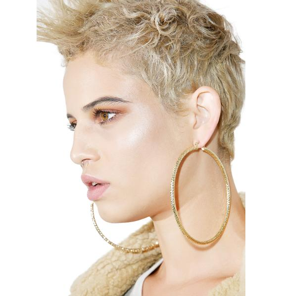 New Wave Hoop Earrings