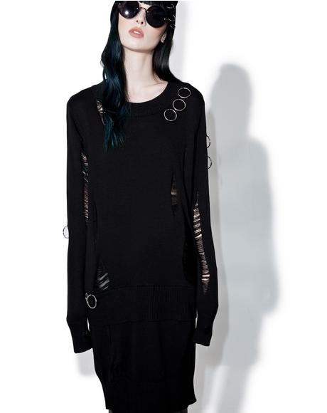 Hex Jumper Dress