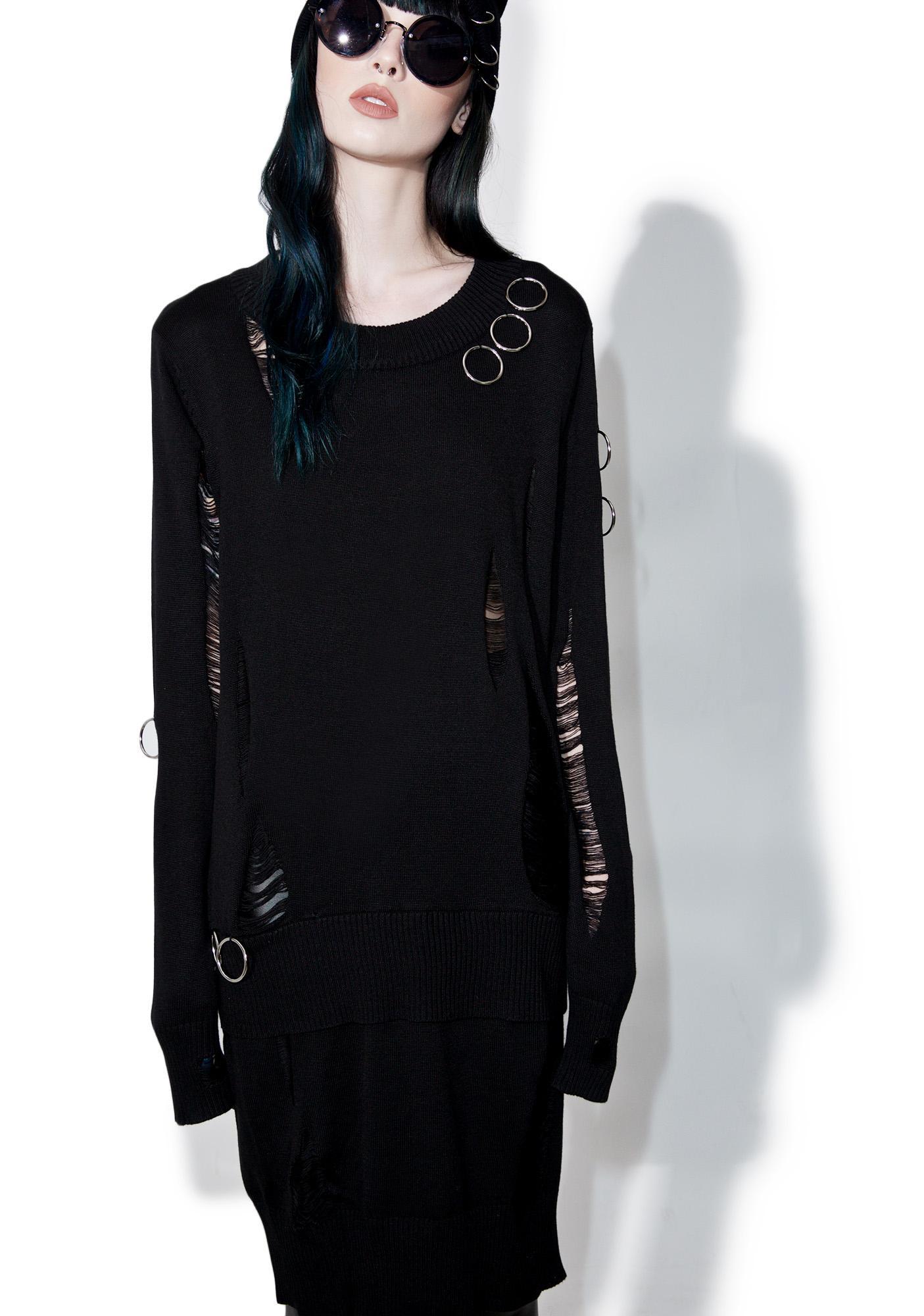 Disturbia Hex Jumper Dress