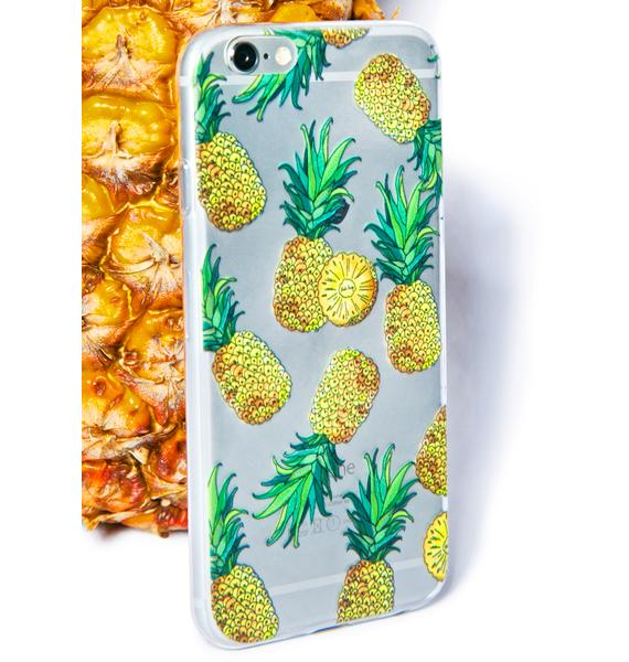 Yeah Bunny Pineapple Attack iPhone 6 Case