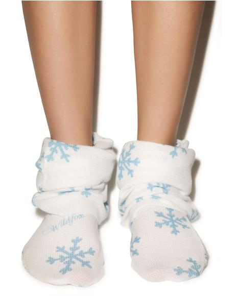 Snowflake Fox Sox