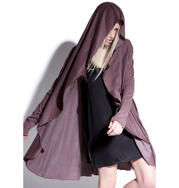 MNML Premonition Hooded Cardigan