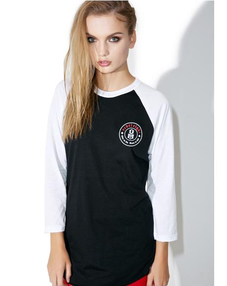 Born To Die Raglan Tee