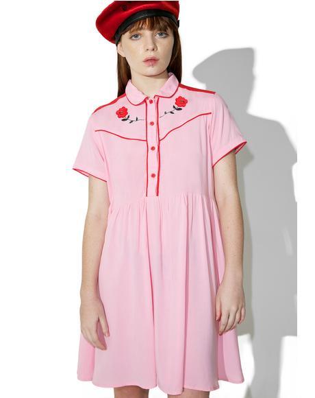 Western Rose Dress