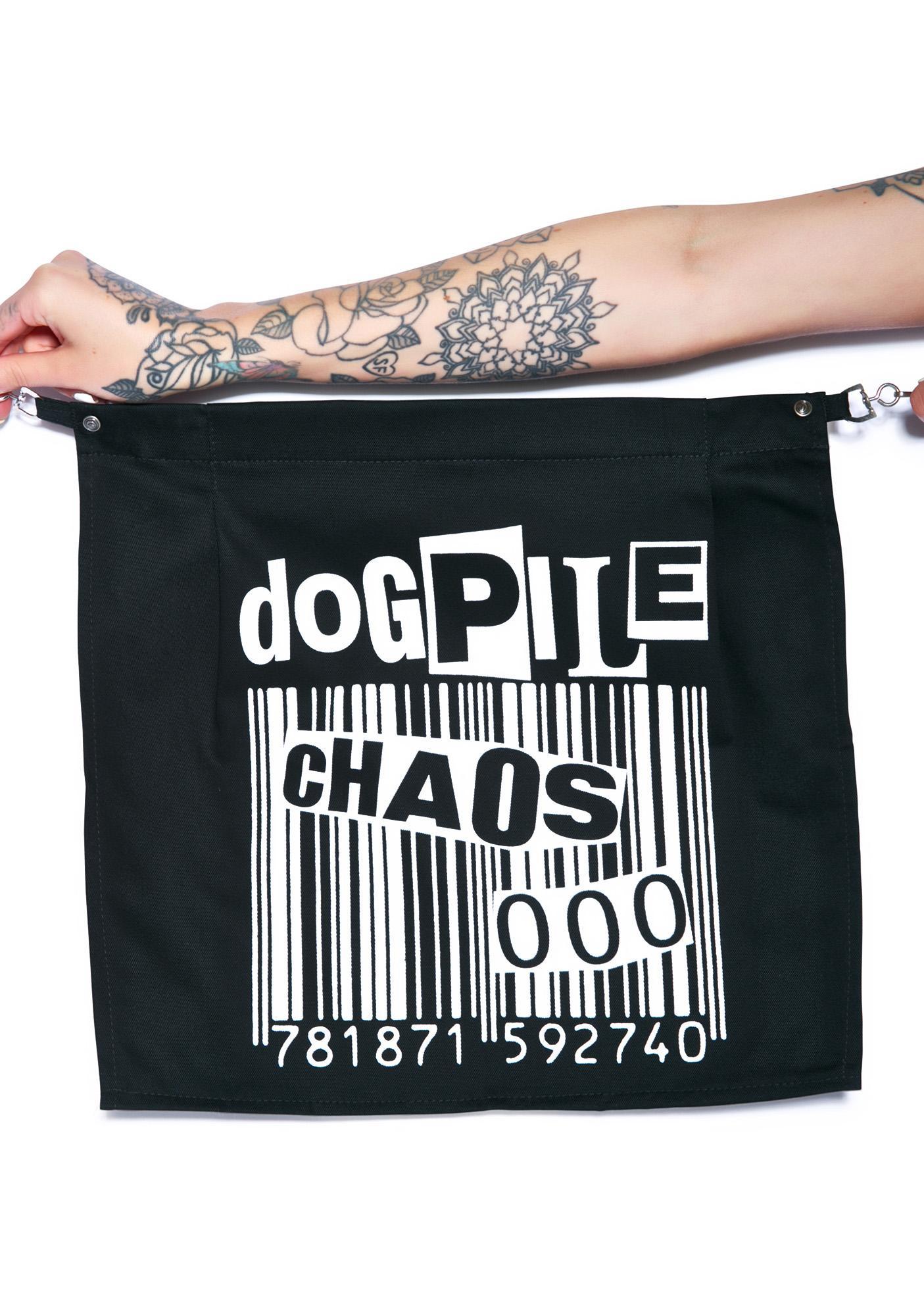 Chaos Barcode Bum Flap