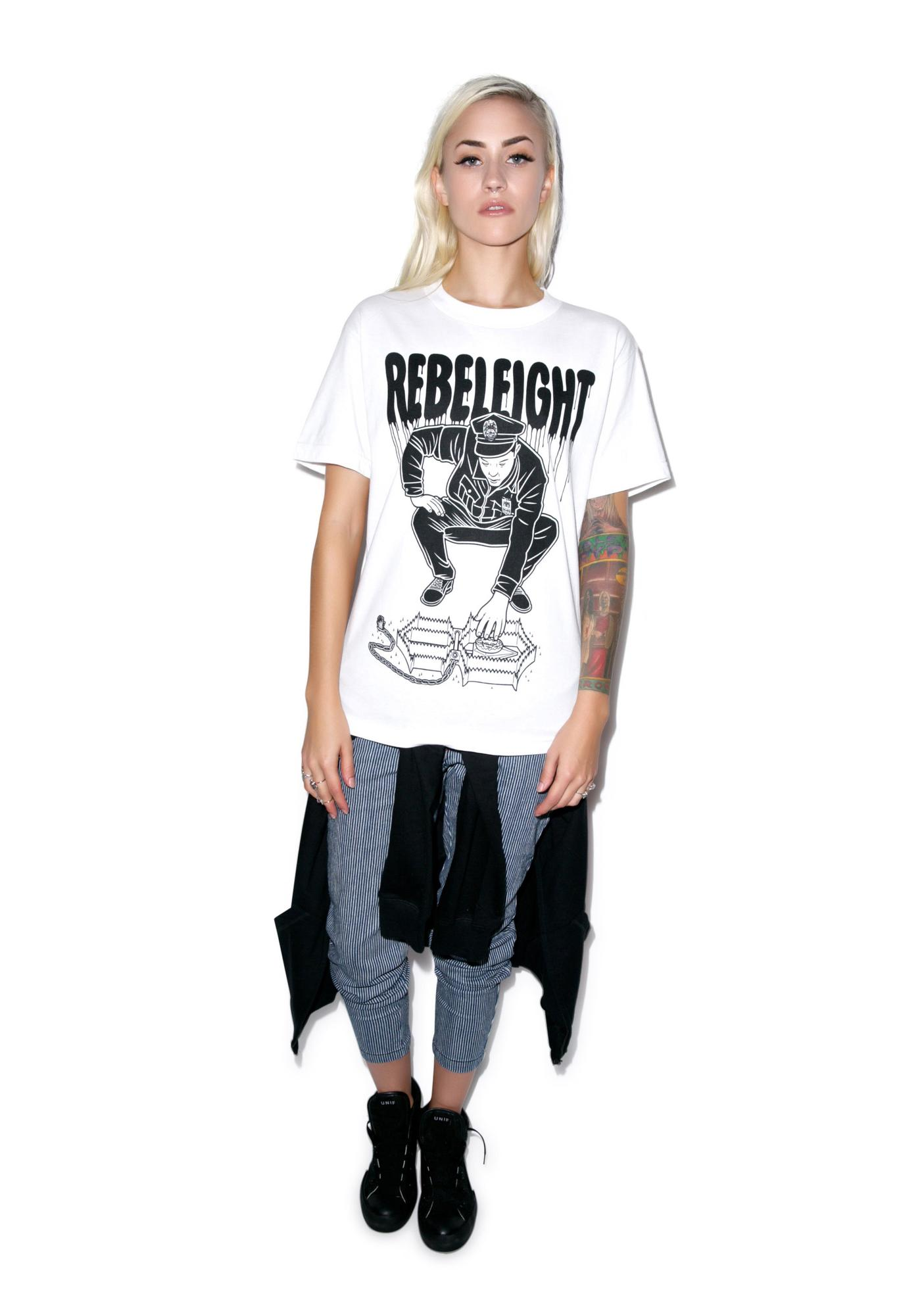 Rebel8 Cop Trap Mens Tee