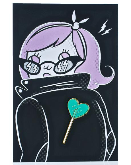 Heart Lolli Pin