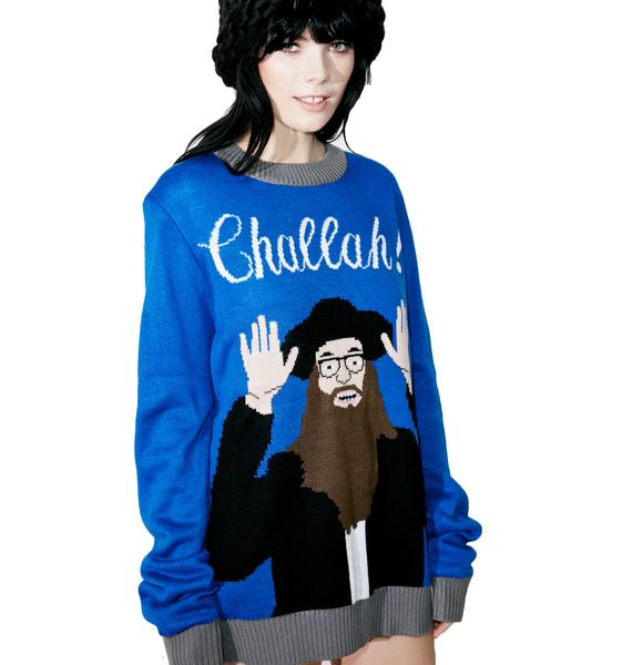 Tipsy Elves Challah Sweater