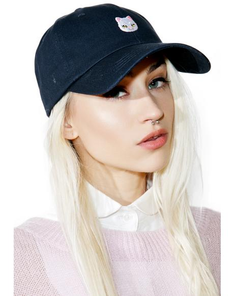 Cute Kitty Dad Hat