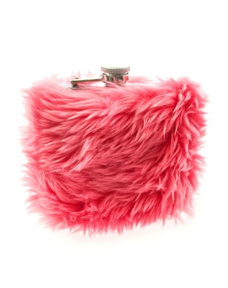 Kim's Kocktails Furry Flask
