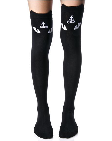 Purr Evil Socks