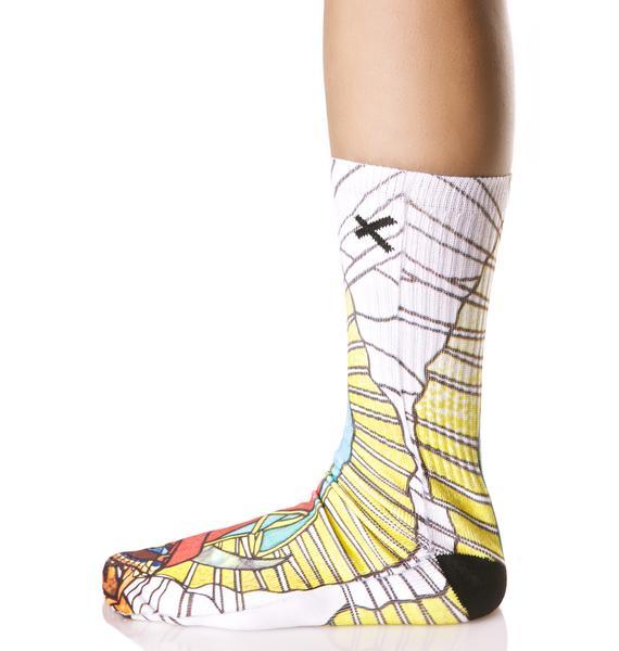 Odd Sox Guadalupe Socks