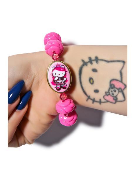 Gothic Lolita Rose Bracelet