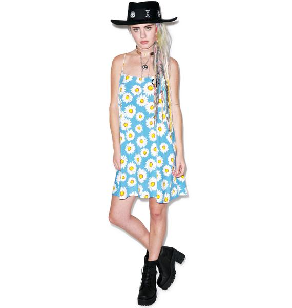 Motel Wild Daisy Slip Dress