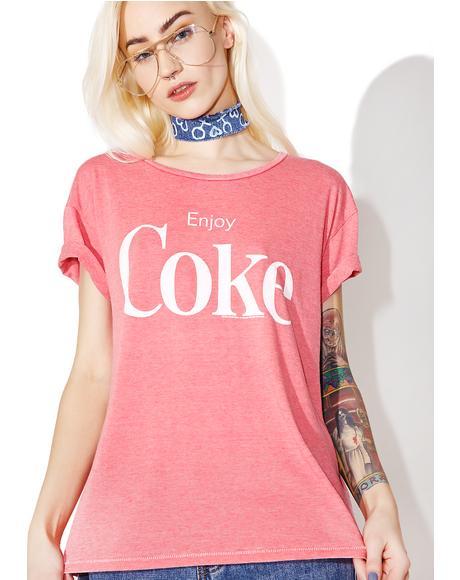 Enjoy Coke Tee