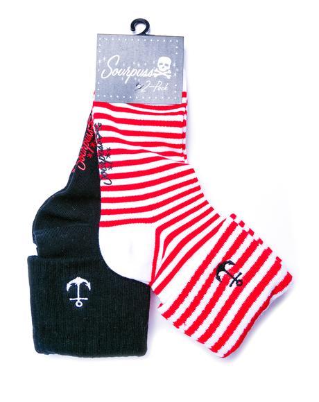Anchor Socks Set