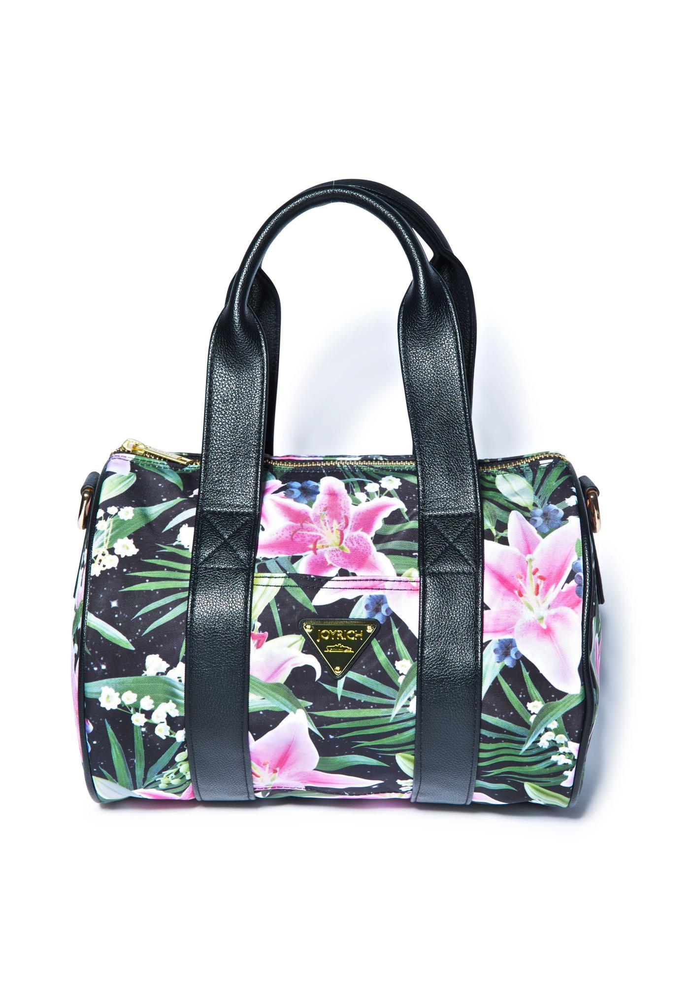 Joyrich Optical Garden Shoulder Boston Bag