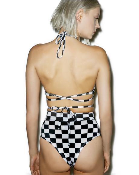 Checker Wrap Set