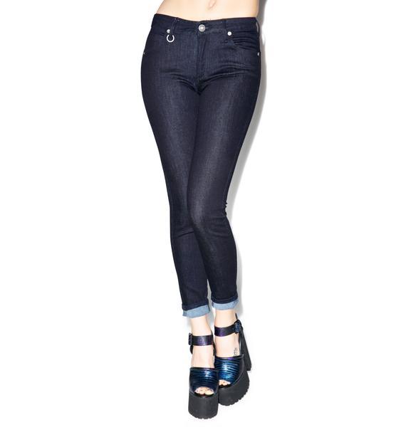 Neuw Razor Skinny Cropped Jeans