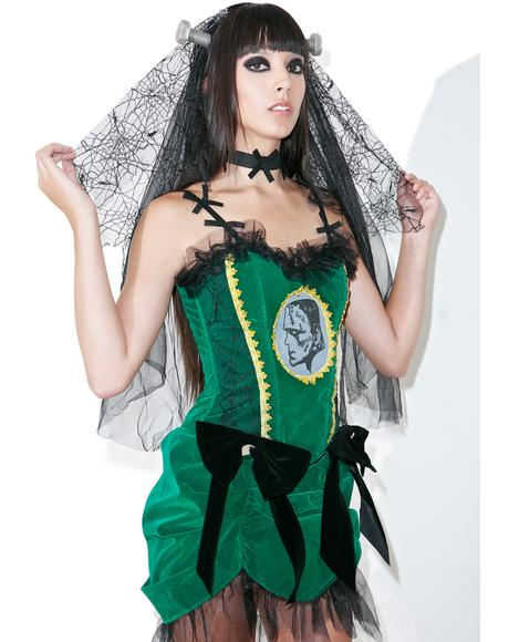 Franken-Bride Costume Set