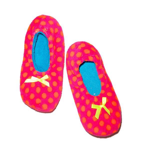 Who's Yer Dottie Slipper Socks
