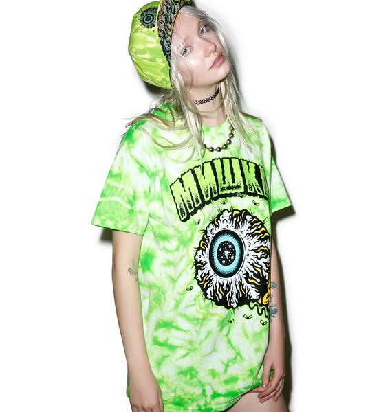Mishka Tall Boy Keep Watch Tie Dye Tee
