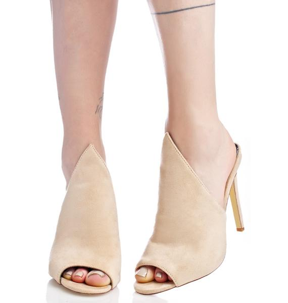 Bare Cult Heeled Mules
