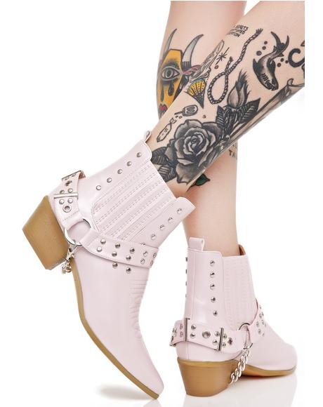 Gunslinger Chained Boots