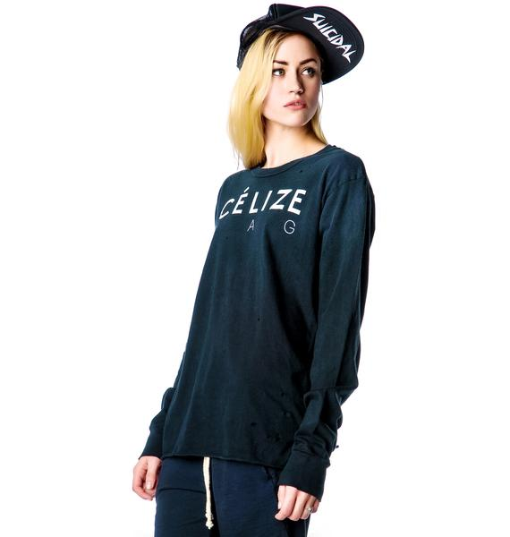 UNIF Celize Bag Long Sleeve Tee