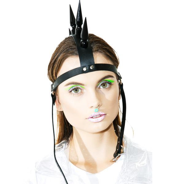 Club Exx Manic Mohawk Headpiece