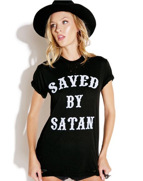 Saved By Satan Tee