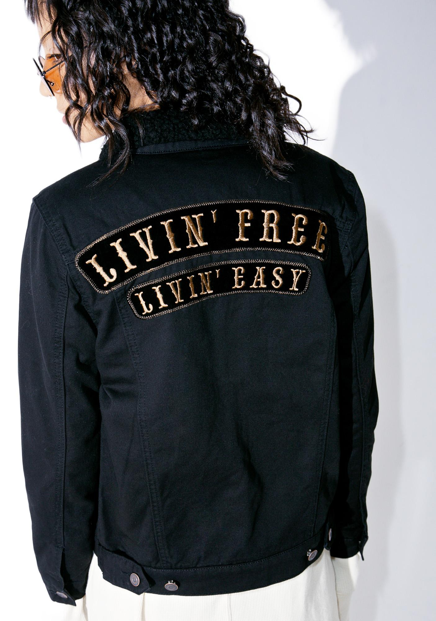 Lira Clothing Livin' Free Jacket